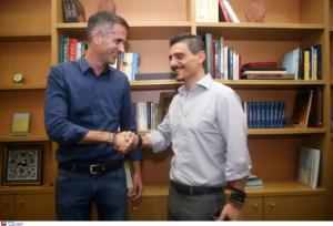 """Παναθηναϊκός: Γιαννακόπουλος – Μπακογιάννης: """"Τεράστιο έργο για την Αθήνα"""""""