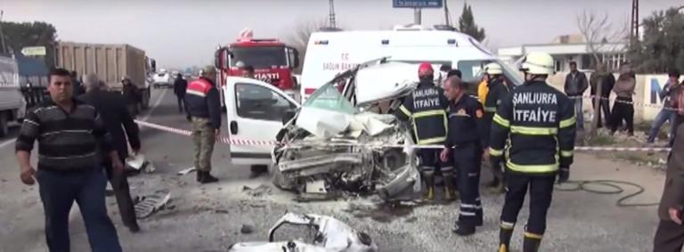 Τουρκία: Τουλάχιστον 17 νεκροί σε τροχαίο με μετανάστες!