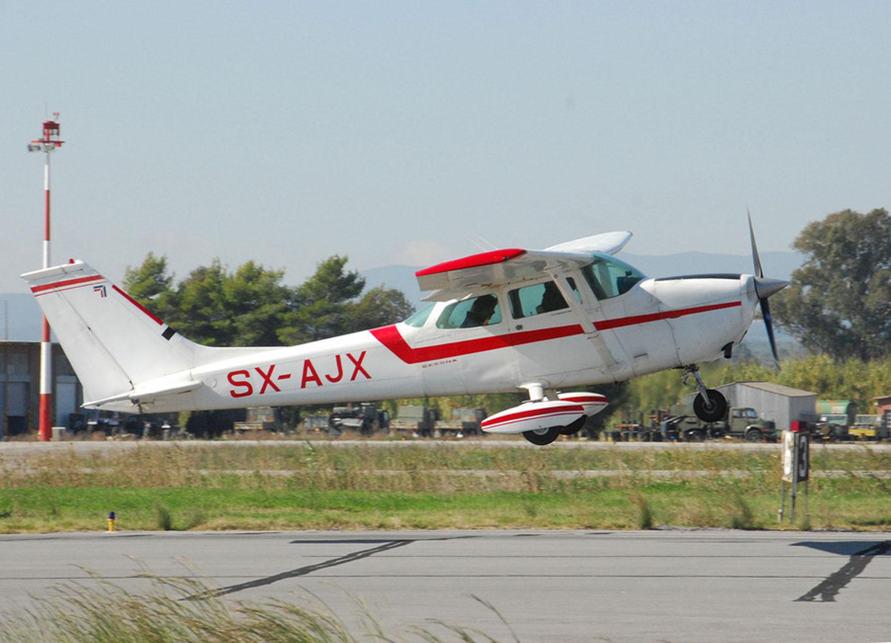 Γρεβενά: Αναγκαστική προσγείωση μονοκινητήριου αεροσκάφους