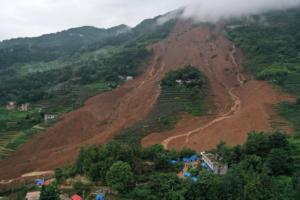 Θρήνος στην Κίνα: 20 οι νεκροί από κατολίσθηση