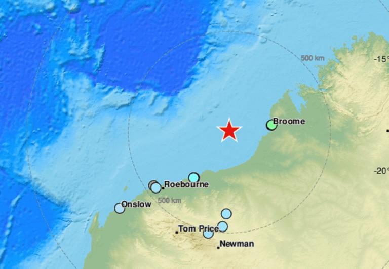 Σεισμός 6,6 Ρίχτερ στην Αυστραλία