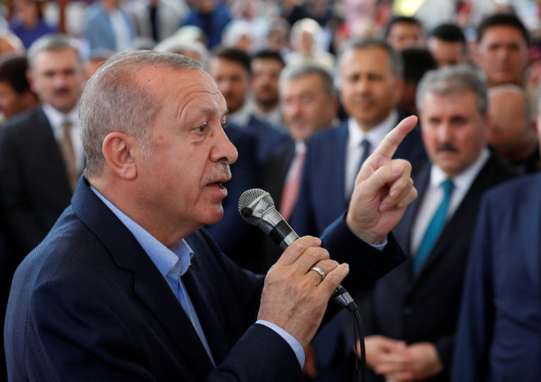 Ερντογάν: Οι κυρώσεις δεν θα μας σταματήσουν!