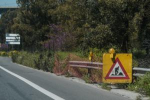 Εργασίες συντήρησης στην εθνική οδό Αθηνών – Θεσσαλονίκης στην Πιερία