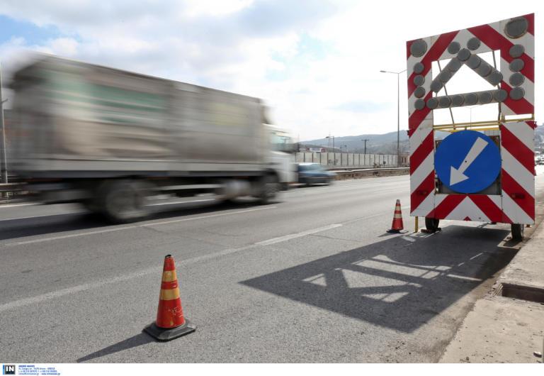 Εργασίες συντήρησης στην Εθνική Οδό Θεσσαλονίκης – αεροδρομίου «Μακεδονία»