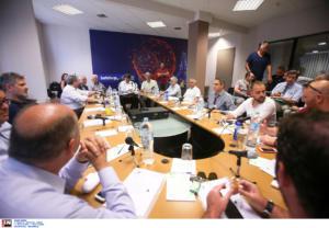 Χωρίς Ολυμπιακό το έκτακτο ΔΣ του ΕΣΑΚΕ – Ψηφίστηκε ο υποβιβασμός του Λαυρίου, αλλά…