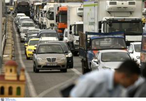 Εθνική Οδός: Κόλαση στον Κηφισό στο ρεύμα προς Πειραιά – Μποτιλιάρισμα χιλιομέτρων και απίστευτη ταλαιπωρία!