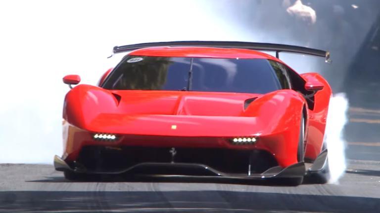 Πρώτη δημόσια εμφάνιση της εξωτικής Ferrari P80/C [vid]