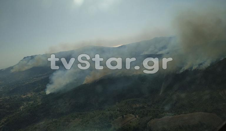 Εύβοια – Φωτιά: Αλλεπάλληλες αναζωπυρώσεις και νέο μέτωπο στο Τραχήλι!