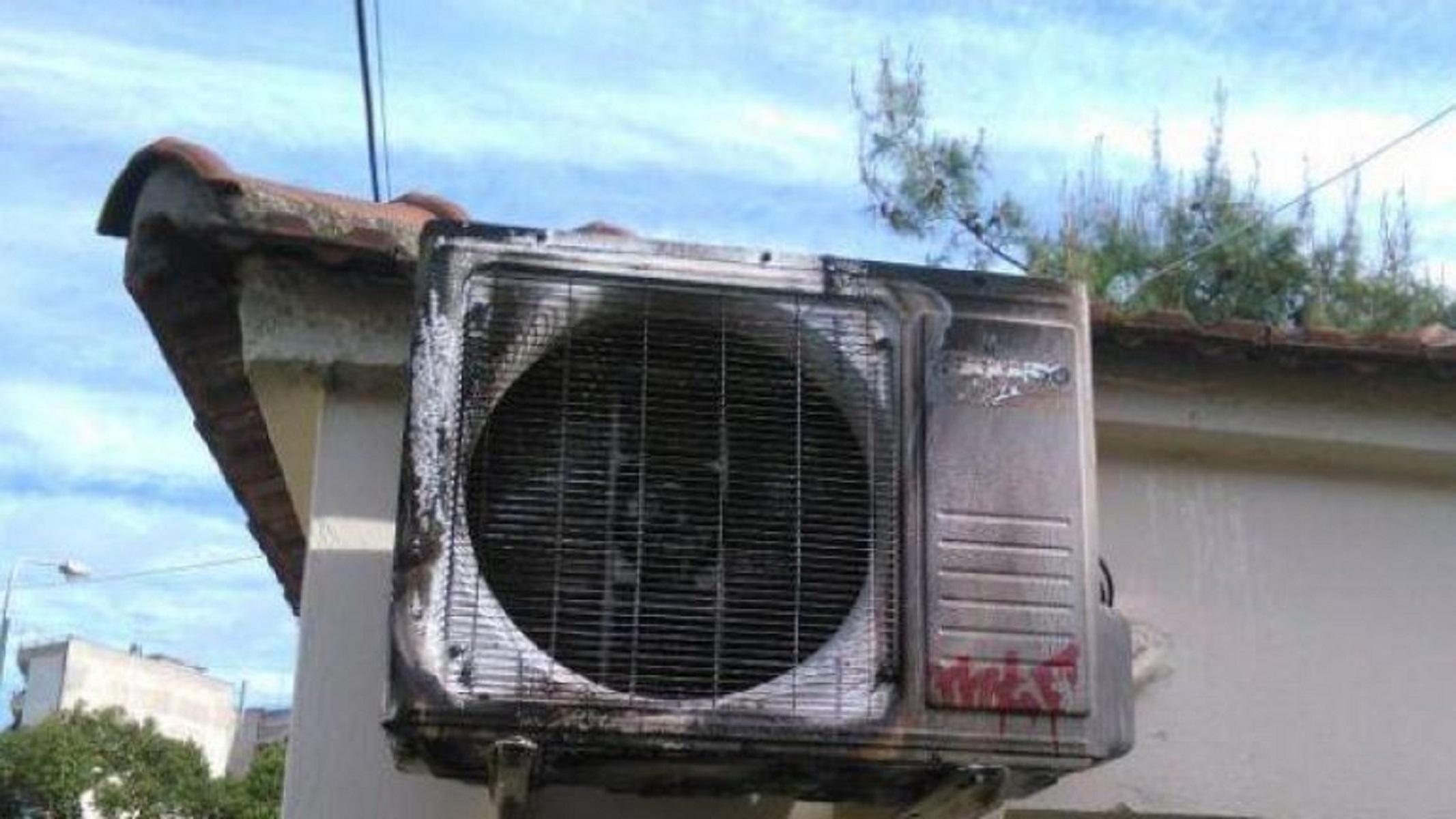 Τα κλιματιστικά πήραν φωτιά στην… κυριολεξία! Στο πόδι όλη η γειτονιά στον Άγιο Νικόλαο