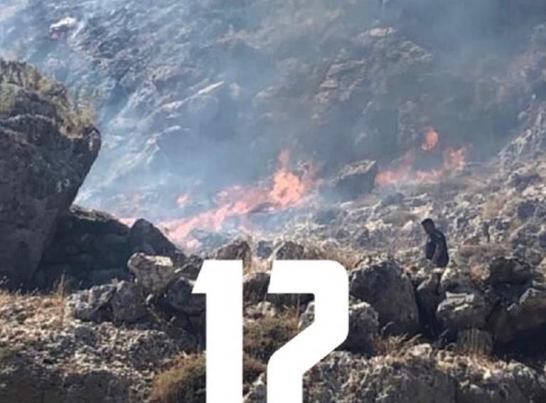 Ρόδος: Φωτιά ξανά στη Λίνδο