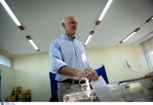 Εκλογές 2019: Ψήφισε ο Γιώργος Παπανδρέου μετά το απίθανο πρωινό μπέρδεμα – Η ατάκα για τον εκλογικό χάρτη – video