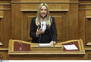 Γεννηματά: Θα είμαστε η φωνή των αδυνάτων στη Βουλή