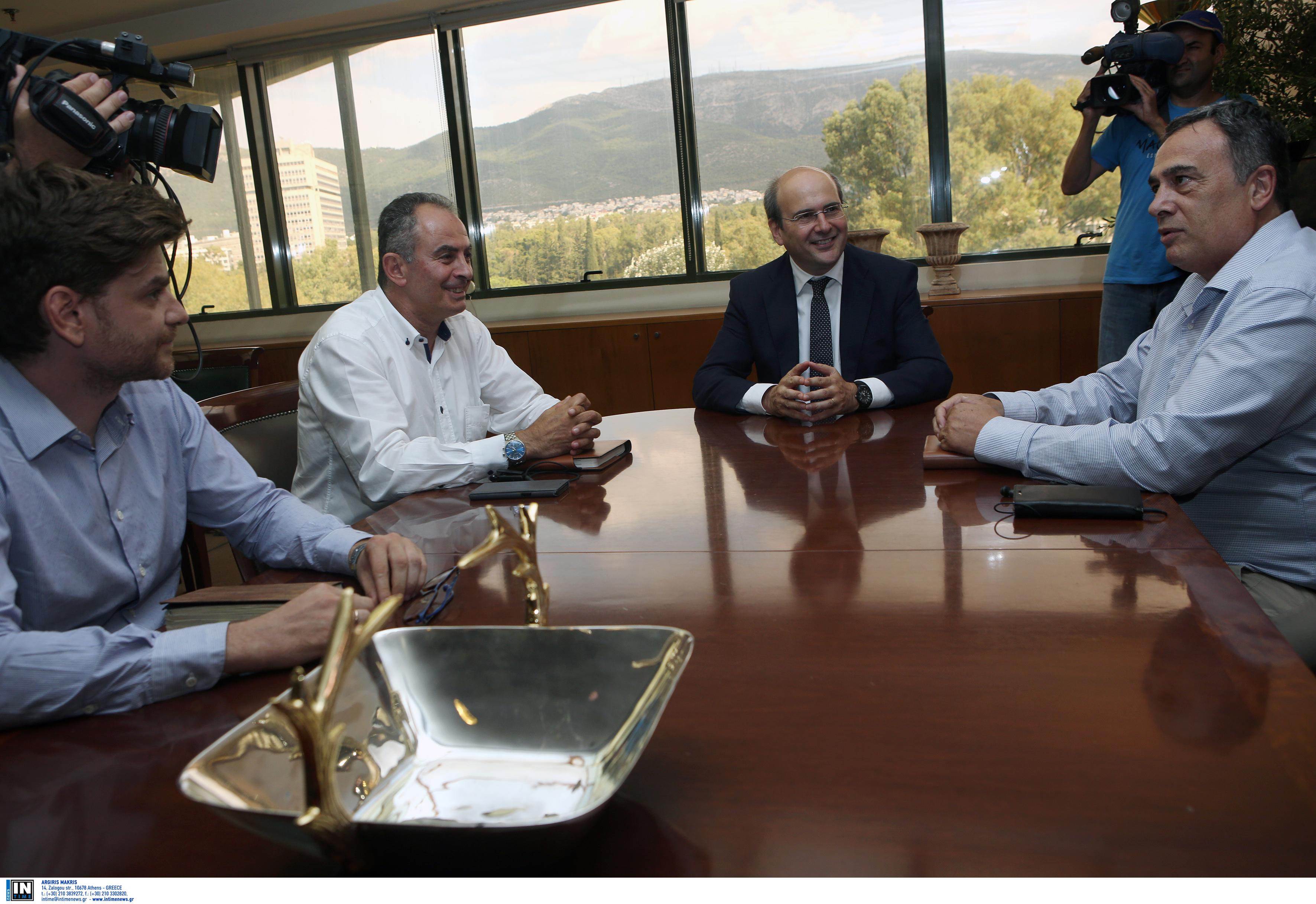 ΓΕΝΟΠ – ΔΕΗ: Το ζήτημα της ΔΕΗ, είναι εθνικό ζήτημα – Συνάντηση με Χατζηδάκη