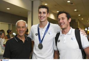 """Αποθεωτική υποδοχή στον θριαμβευτή Γκολομέεβ και στην ελληνική αποστολή – """"Μπορώ το ολυμπιακό μετάλλιο"""""""