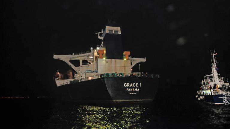 Βρετανία: Συνελήφθησαν άλλα δυο μέλη του δεξαμενόπλοιου Grace 1