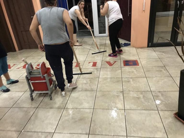 Ημαθία: Νύχτα κόλαση με ανυπολόγιστες καταστροφές – Εικόνες από το πέρασμα της κακοκαιρίας!