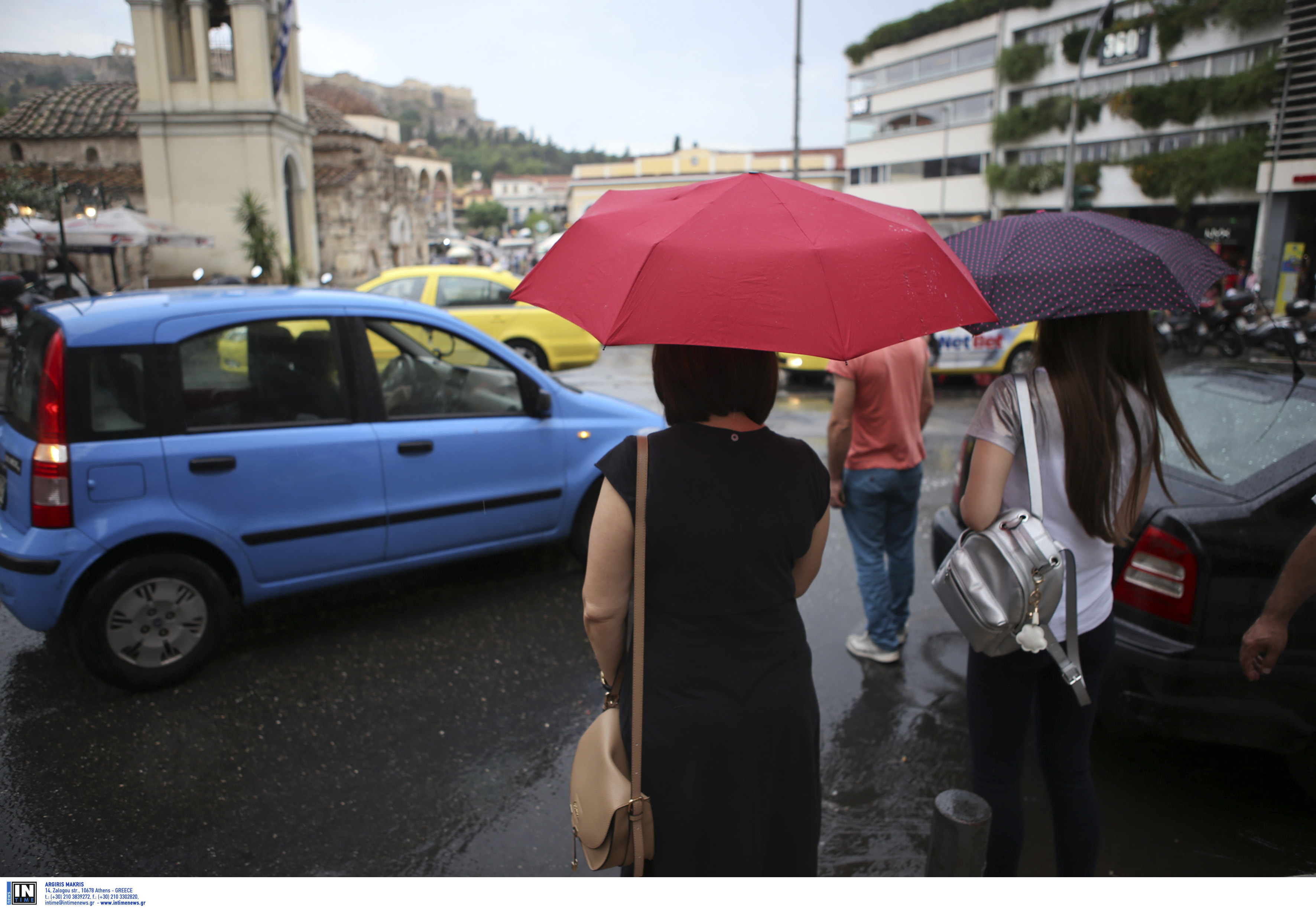 Απαραίτητη και σήμερα η ομπρέλα – Που θα βρέξει