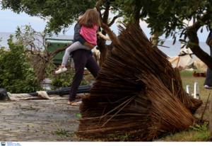 Γιάννενα: Σαρωτική κακοκαιρία με πτώσεις δέντρων και διακοπές ρεύματος – Μπουρίνι με θυελλώδεις ανέμους!