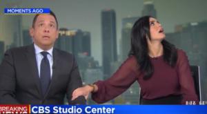 Σεισμός Καλιφόρνια: Τρόμος on air για δύο παρουσιαστές – video