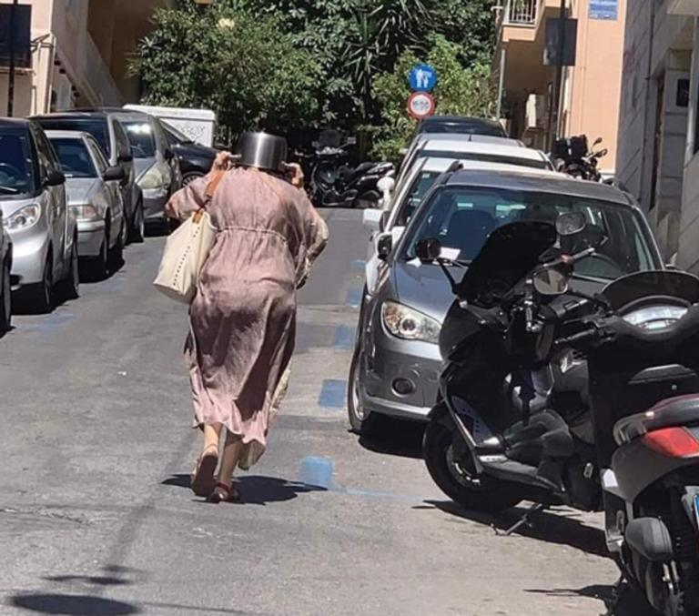 Σεισμός Αθήνα: Πανηγύρι στο twitter και η επική κυρία με την κατσαρόλα στο κεφάλι