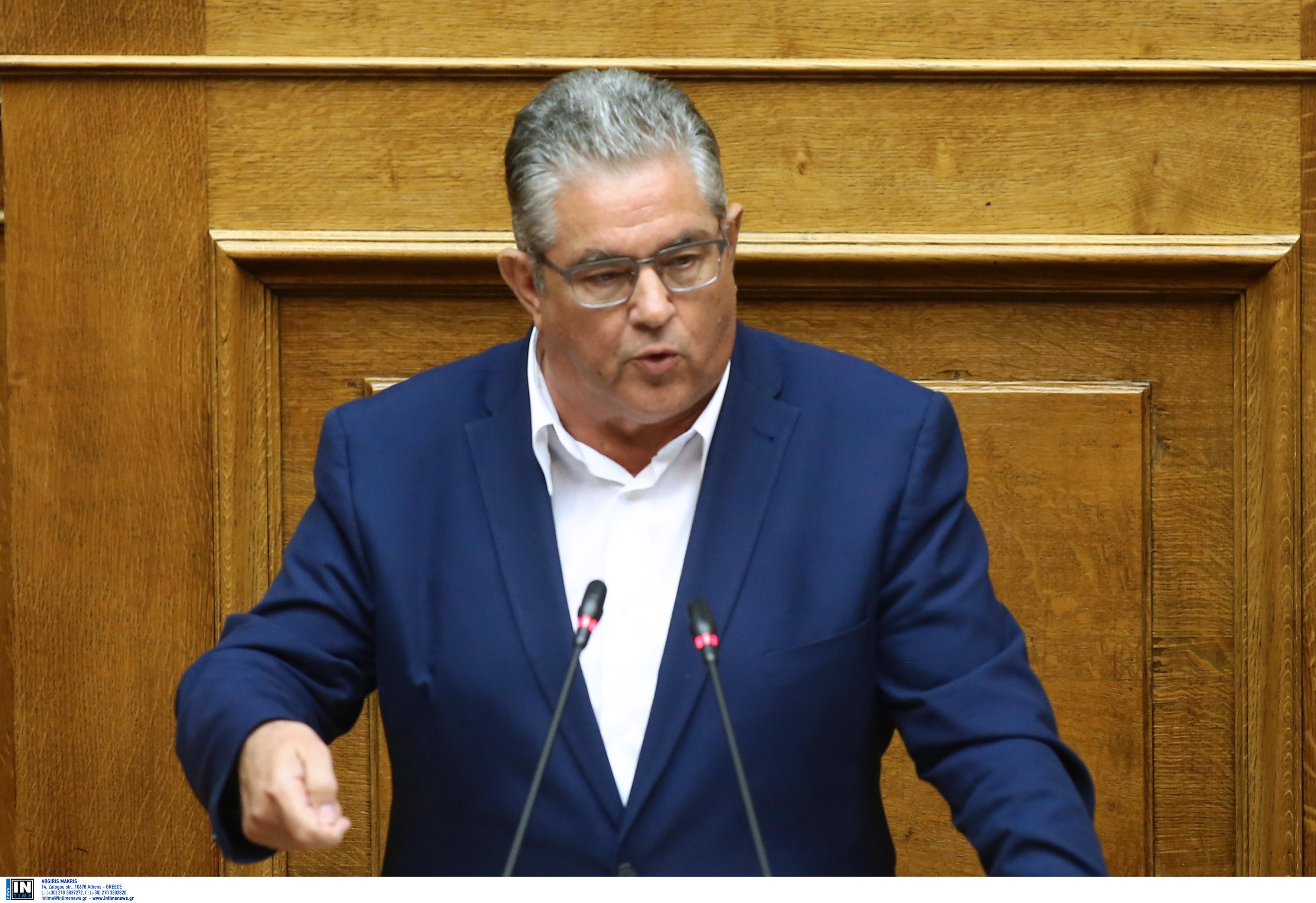 """Κουτσούμπας: Η ΝΔ θα """"χτίσει"""" πάνω στα όσα έκανε ο ΣΥΡΙΖΑ"""