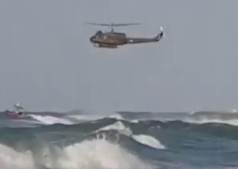 Ηράκλειο: Θρίλερ στα κύματα της παραλίας – Οι διασώστες των παιδιών κινδύνεψαν να πνιγούν [pics, video]
