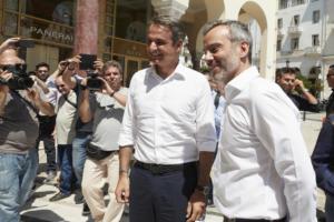 Μητσοτάκης: Συνάντηση… γεμάτη όνειρα στην Θεσσαλονίκη με τον Ζέρβα!