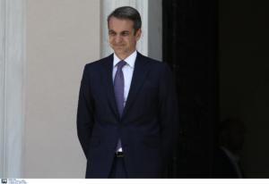 Οι πρώτες συναντήσεις του πρωθυπουργού Κυριάκου Μητσοτάκη