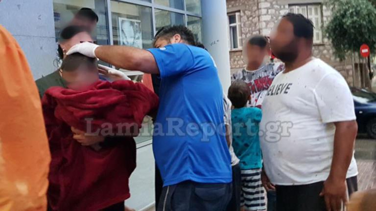 Λαμία: Αυτοκίνητο παρέσυρε 3χρονο αγοράκι – video