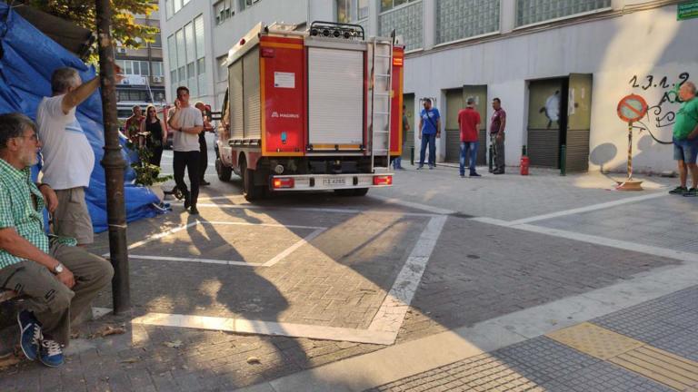 Ισχυρή έκρηξη στα δικαστήρια της Λάρισας! video