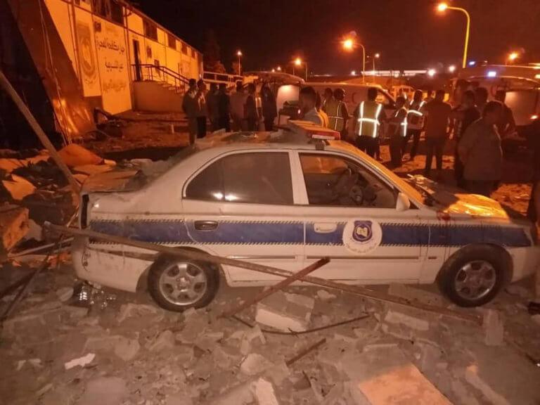 Λιβύη: Βομβαρδισμοί σκόρπισαν τον όλεθρο σε κέντρο μεταναστών! 40 νεκροί και 80 τραυματίες [pics]