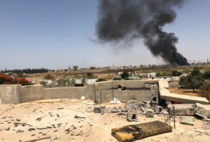 Λιβύη: Οι δυνάμεις του Χάφταρ βομβάρδισαν το κέντρο ελέγχου για drones στην Τρίπολη