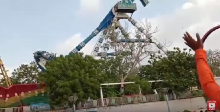 Σοκαριστικό video: Κατέρρευσε ρόδα σε λούνα παρκ! Νεκροί και τραυματίες – Σκληρές εικόνες