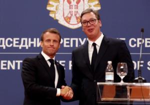 Μακρόν: Βελιγράδι και Πρίστινα να επιδιώξουν συμβιβαστική λύση μέσα από διάλογο