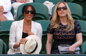Η Μέγκαν Μαρκλ στο Wimbledon να δει την κολλητή της Σερένα Γουίλιαμς