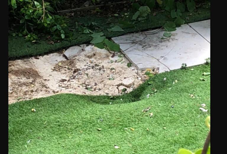 Βρετανία: Έκανε ηλιοθεραπεία στον κήπο του και έπεσε από τον ουρανό… ένα πτώμα! [pic]
