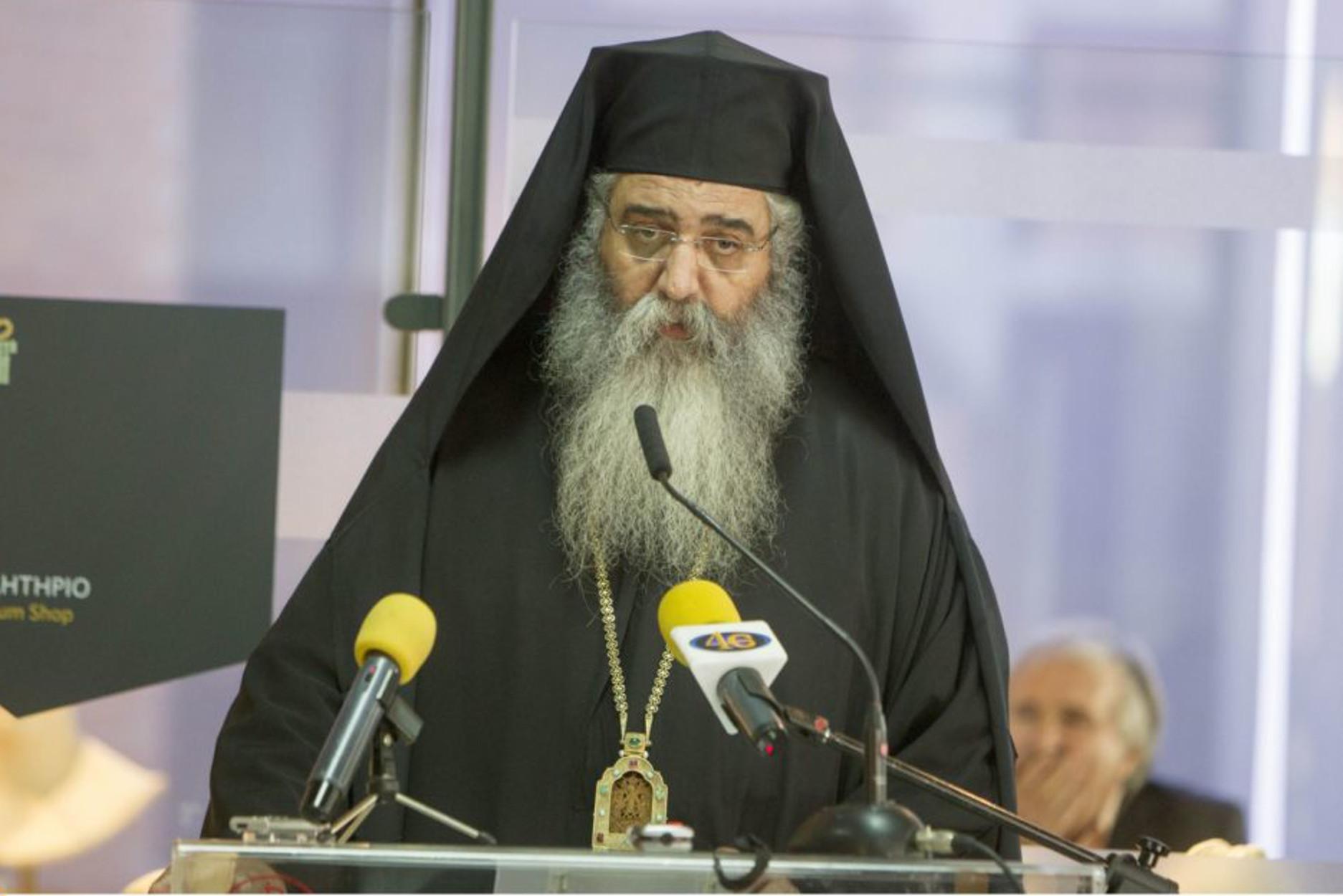 """Επιμένει ο Μητροπολίτης Μόρφου παρά τον σάλο - """"Εξέφρασα απλά τις θέσεις της εκκλησίας"""""""