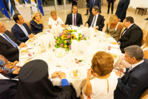 Μητσοτάκης: Προτεραιότητά μας η επίλυση του Κυπριακού – Δείπνο στην Λευκωσία [pics]