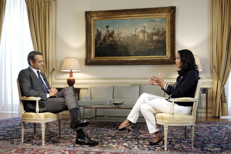 Μητσοτάκης: Η πρώτη συνέντευξη στα… δύσκολα του BBC!
