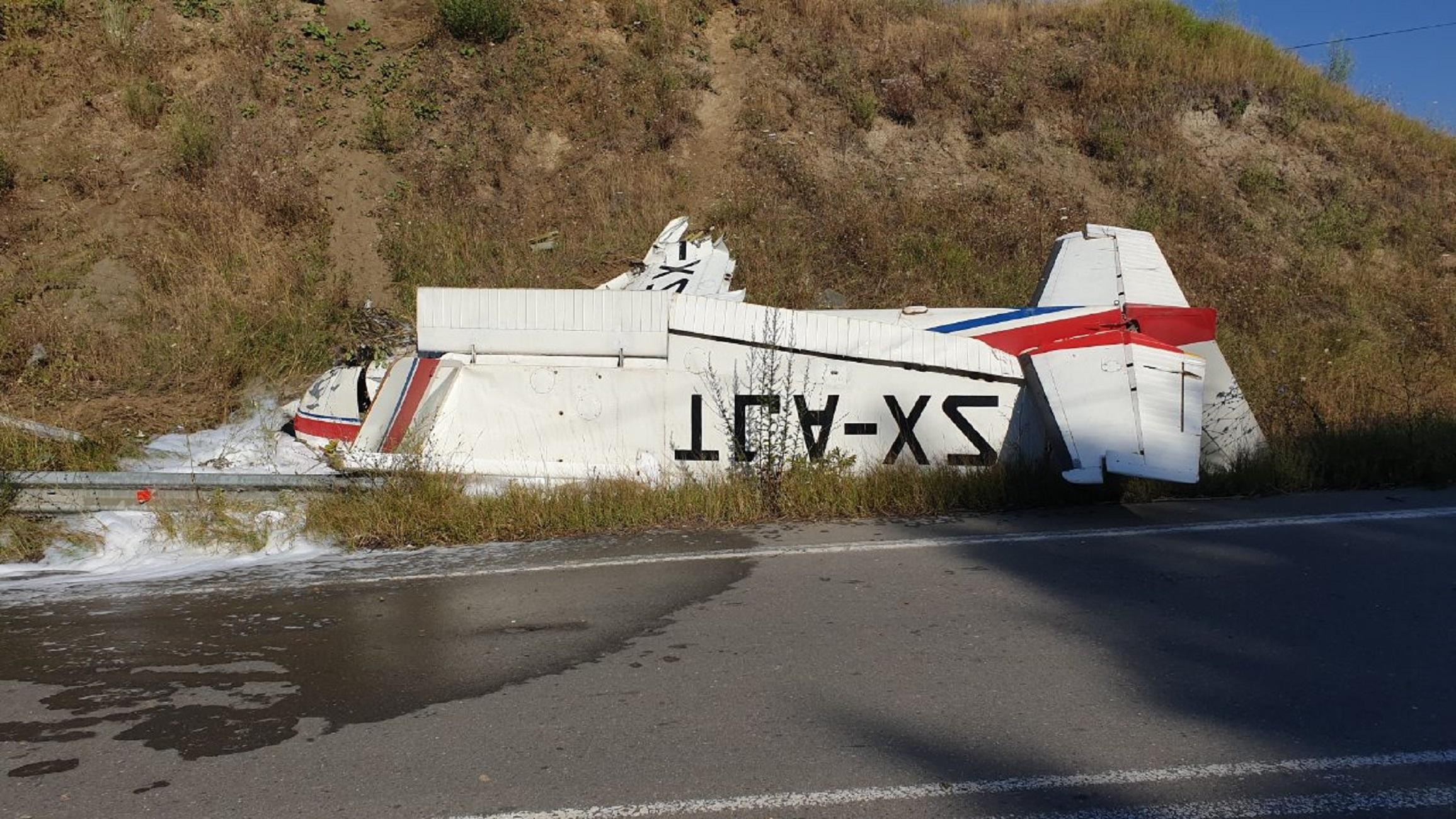 Γρεβενά: Τυχεροί στην ατυχία τους οι τρεις τραυματίες από την αναγκαστική προσγείωση