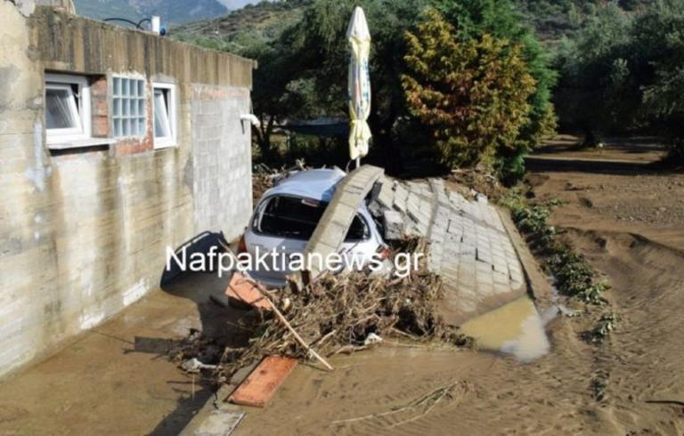 Καιρός: Μεγάλες ζημιές στη Ναυπακτία! Το πρώτο φως έδειξε το μέγεθος της καταστροφής
