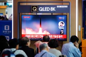 Βόρεια Κορέα: Δεύτερη βαλλιστική δοκιμή με νέους πυραύλους