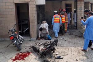 Πακιστάν: 8 νεκροί και 22 τραυματίες από διπλό τρομοκρατικό χτύπημα