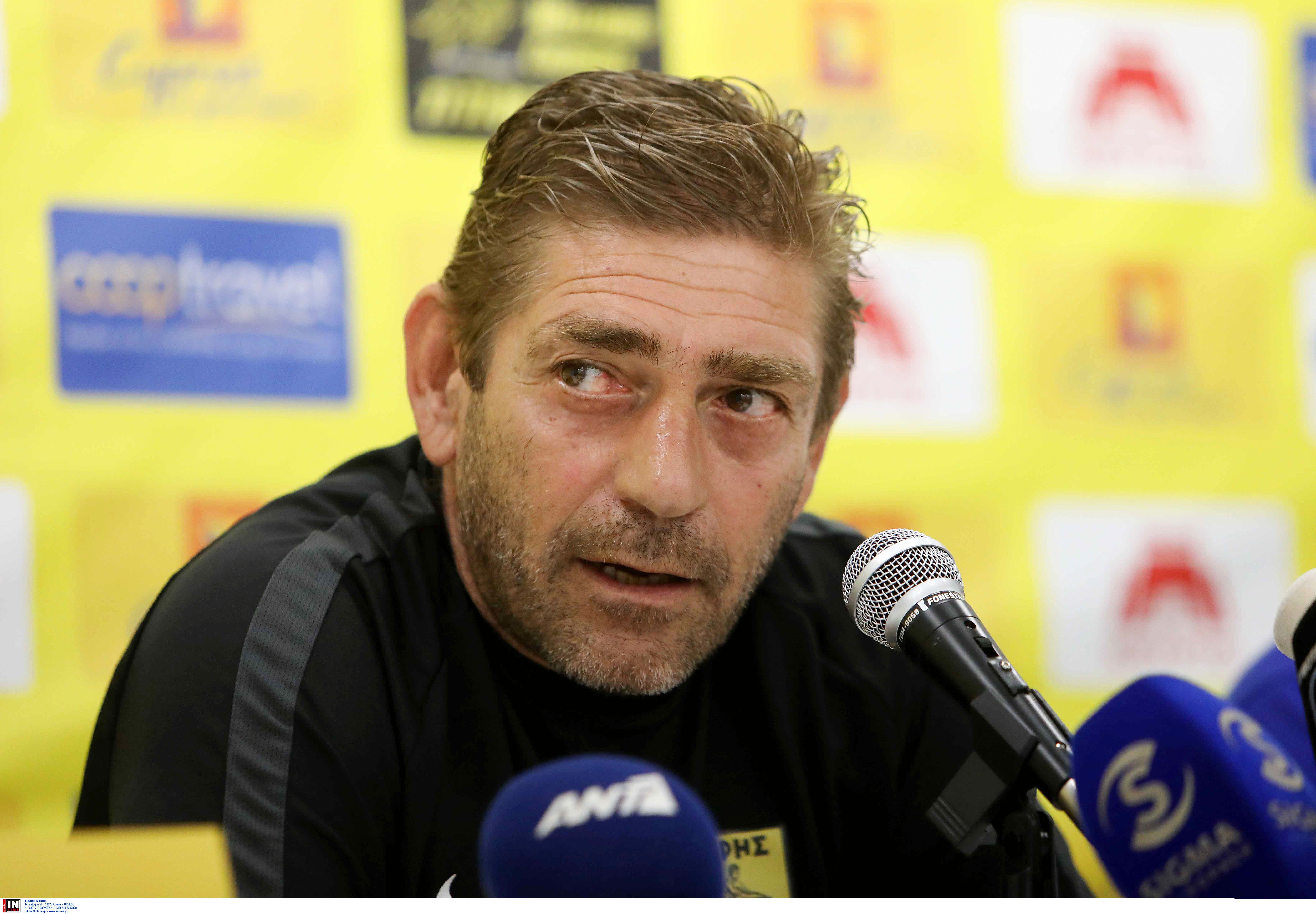 "Europa League, Άρης – Παντελίδης: ""Έχω καταλήξει στην 11άδα!"""