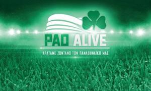Παναθηναϊκός – PaoAlive: Αυτό είναι το ποσό που έχει μαζευτεί