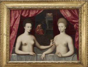Γεμάτος… μυστικά, ο πίνακας με την Γκαμπριέλ Ντ' Εστρέ και την αδελφή της