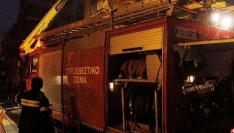Θεσσαλονίκη: Φωτιά σε εταιρεία ανακύκλωσης μετάλλων