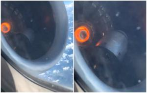 Τρόμος στον αέρα! Βίντεο – σοκ μέσα από το αεροσκάφος! video
