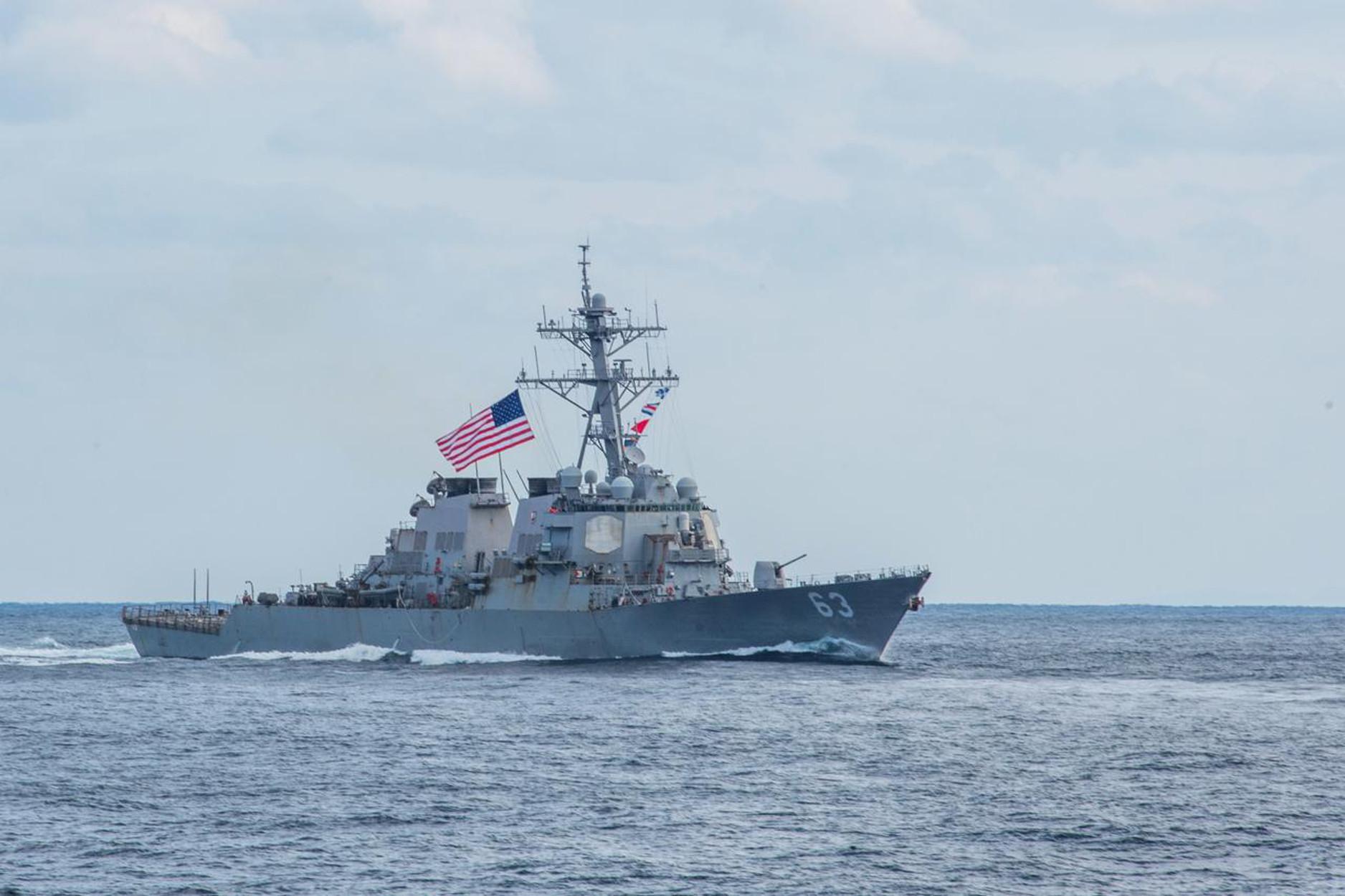 Αμερικανικό πλοίο κατέρριψε Ιρανικό drone στο στενό του Ορμούζ