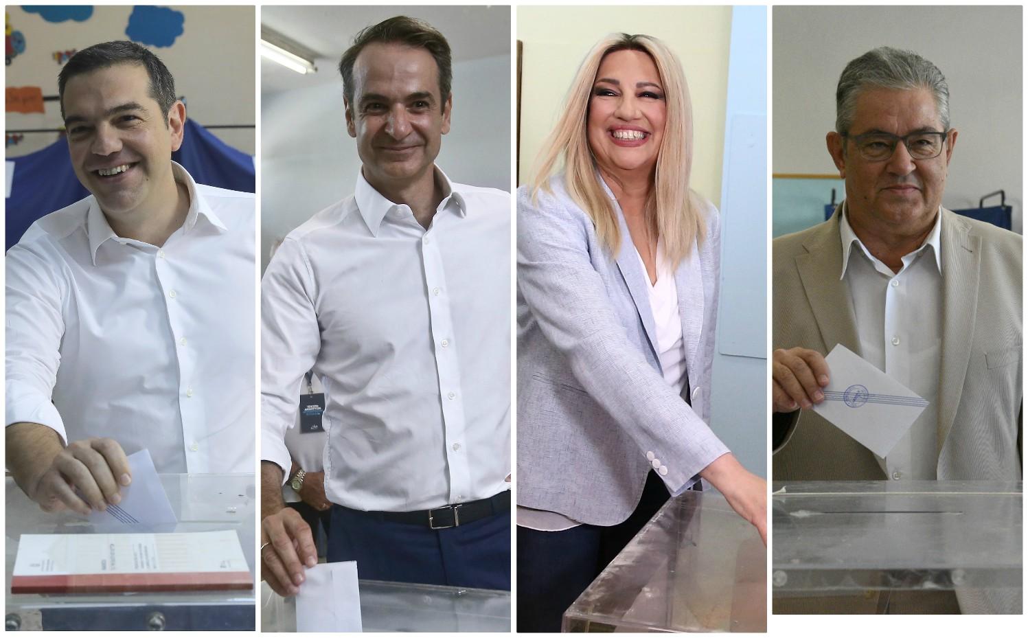 Ψήφισε στην Κυψέλη ο Αλέξης Τσίπρας - Στο Περιστέρι ο Κυριάκος Μητσοτάκης - Λεπτό προς λεπτό τα όσα συμβαίνουν στην εκλογική διαδικασία